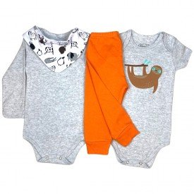 conjunto body bebe manga curta e short bermuda verao menino menina 20210716 115122