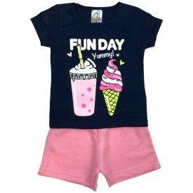 conjunto bermuda camiseta short menino menina verao manga curta pmg 123 20210715 190626