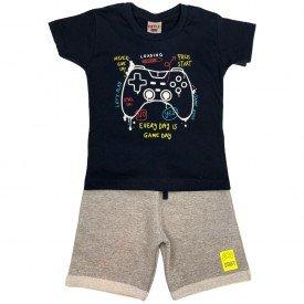 conjunto bermuda camiseta short menino menina verao manga curta pmg 123 20210716 080805