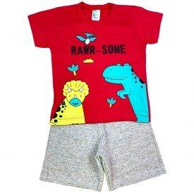 conjunto bermuda camiseta short menino menina verao manga curta pmg 123 20210722 070532