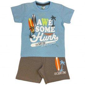 conjunto bermuda camiseta short menino menina verao manga curta pmg 123 20210722 070548