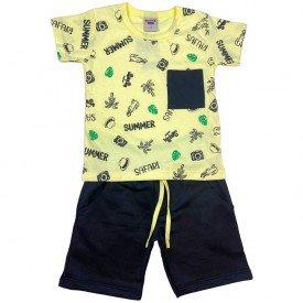 conjunto bermuda camiseta short menino menina verao manga curta pmg 123 20210719 143247