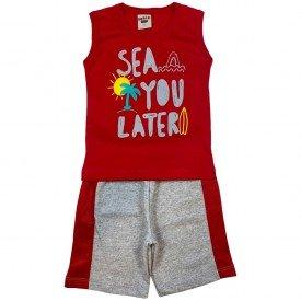 conjunto bermuda camiseta short menino menina verao manga curta pmg 123 20210719 143324