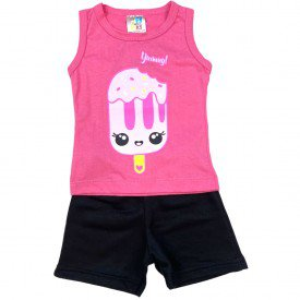 conjunto bermuda camiseta short menino menina verao manga curta pmg 123 20210723 213219