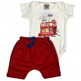 conjunto bermuda camiseta short menino menina verao manga curta pmg 123 20210729 103018