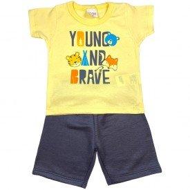 conjunto bermuda camiseta short menino menina verao manga curta pmg 123 20210729 121934