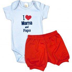 conjunto body bebe manga curta e short bermuda verao menino menina 20210907 142114