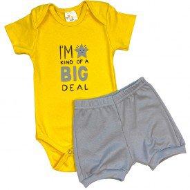 conjunto body bebe manga curta e short bermuda verao menino menina 20210910 112220
