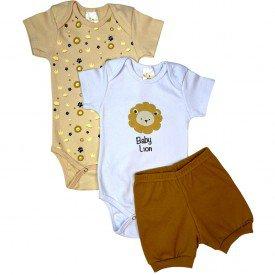 conjunto body bebe manga curta e short bermuda verao menino menina 20210923 122640
