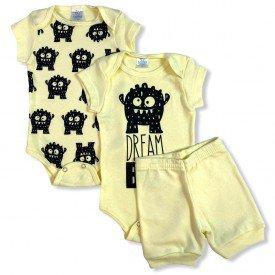 conjunto body bebe manga curta e short bermuda verao menino menina 20210924 143252
