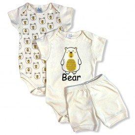 conjunto body bebe manga curta e short bermuda verao menino menina 20210924 143005