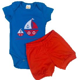 conjunto menino conjunto body menino baby boy roupa infantil enxoval mijao conjunto body azul conjunto promocional