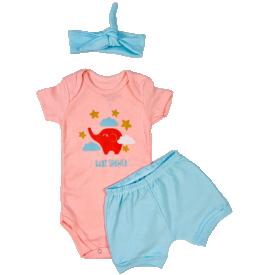body conjunto feminino promocao kit body baby girl