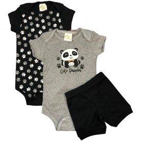conjunto body bebe manga curta e short bermuda verao menino menina 20211021 103427