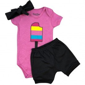 conjunto body bebe manga curta e short bermuda verao menino menina 20211022 111902